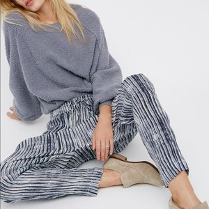 Free People Dream On Gauze Pants